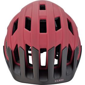 Cube Rook Helmet red